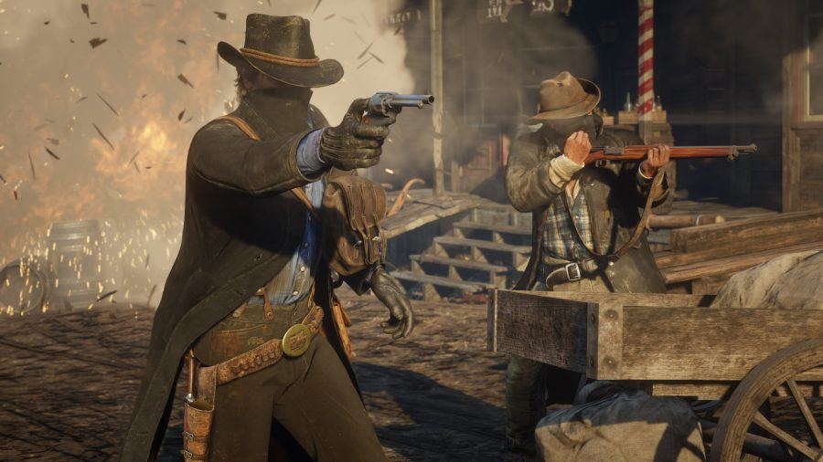Two cowboys from RDR2