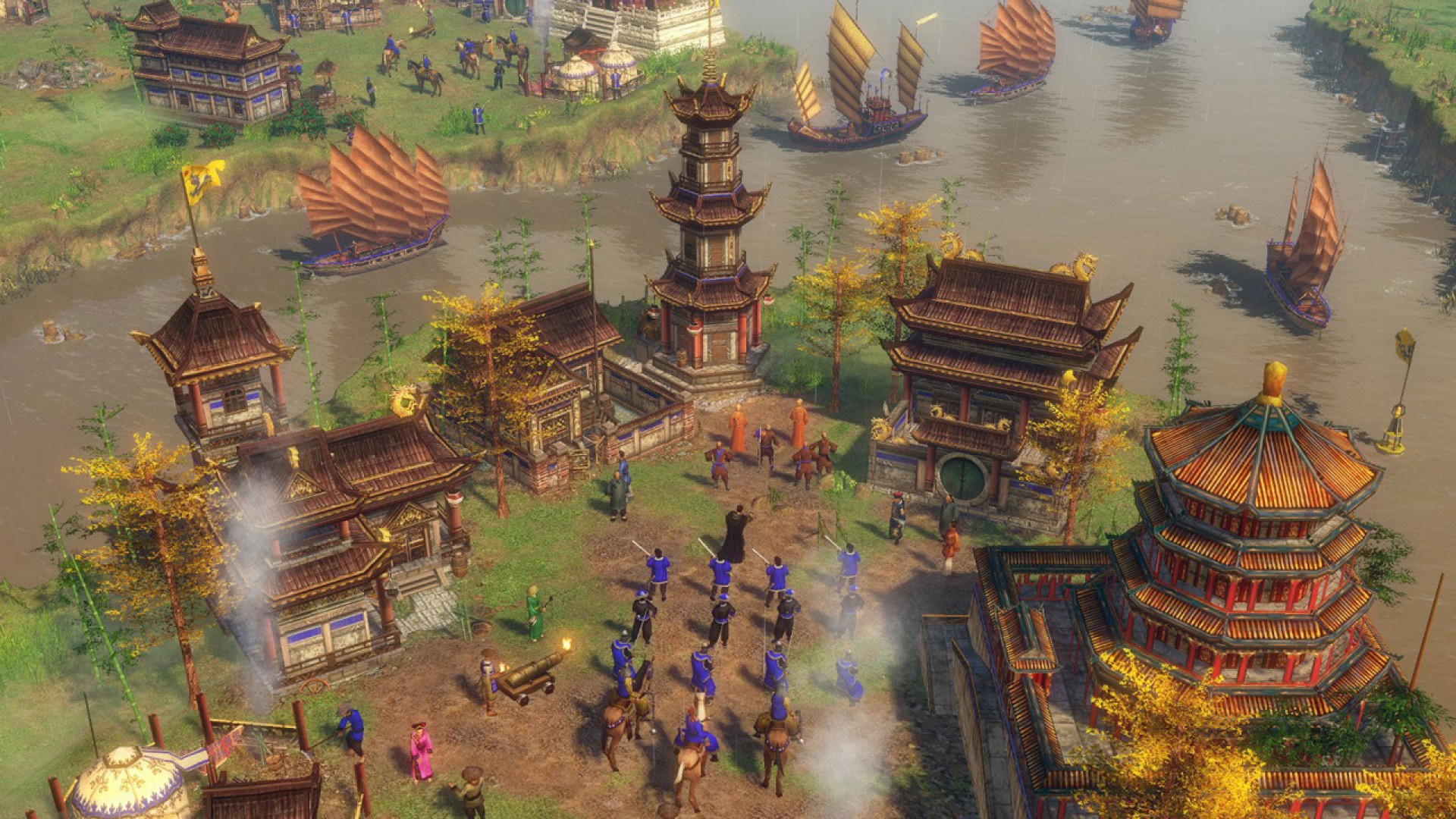 The Age of Empires 3 Definitive Edition beta starts in February