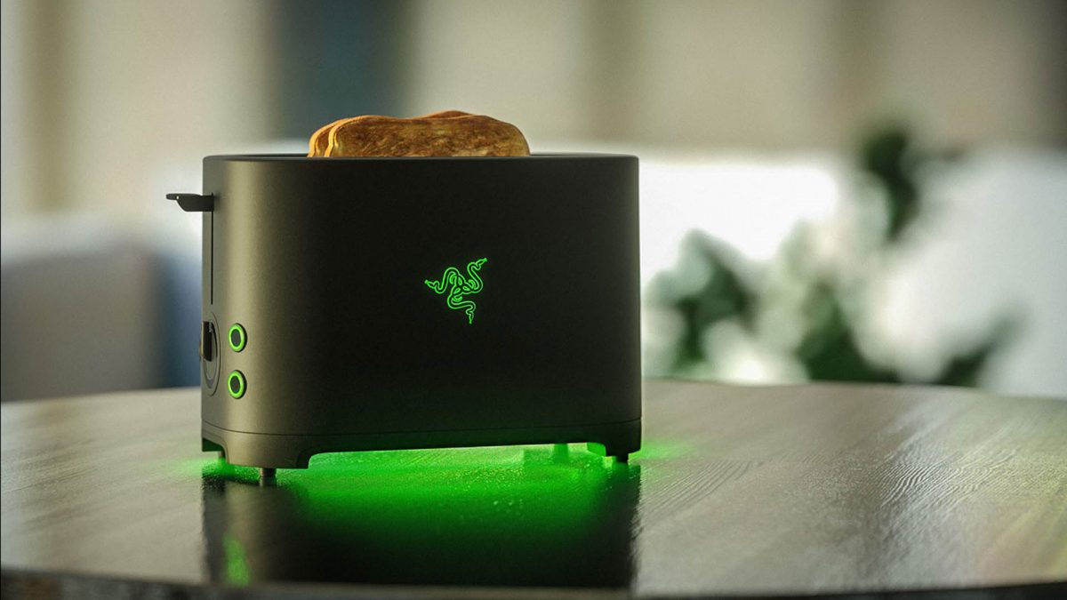 The Razer Toaster isn't the only household object getting the RGB treatment