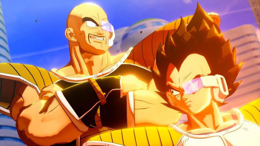 Vegeta and Napa from Dragon Ball Z Kakarot