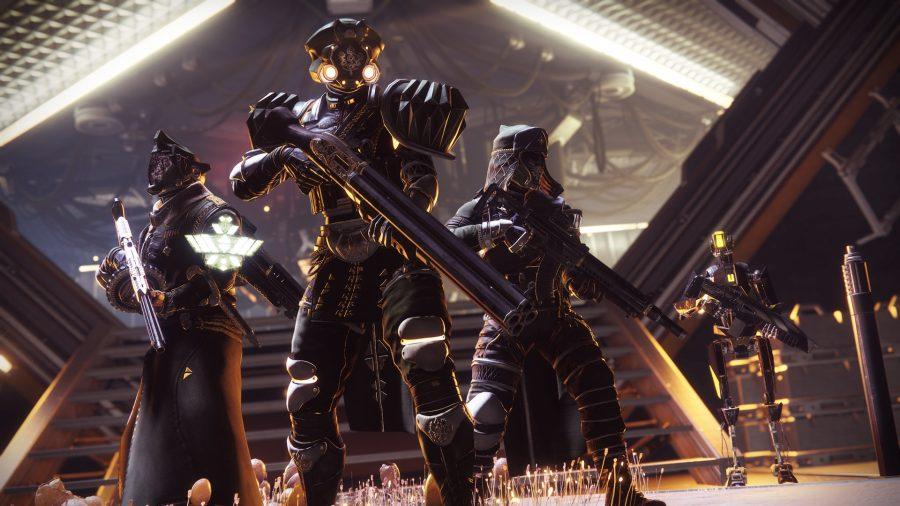 Destiny 2 players with armor