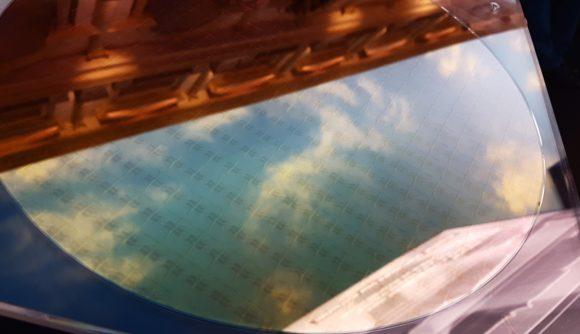 Intel Tiger Lake wafer