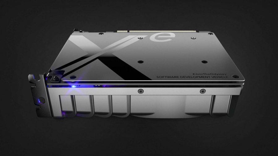 Intel Xe DG1 graphics card