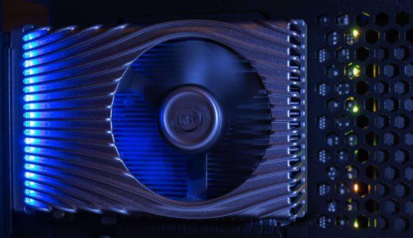 Intel Xe DG1 GPU running