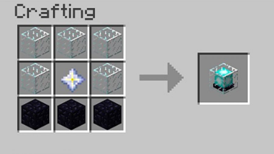 Minecraft Beacon Crafting How To Light A Beacon In Minecraft Pcgamesn