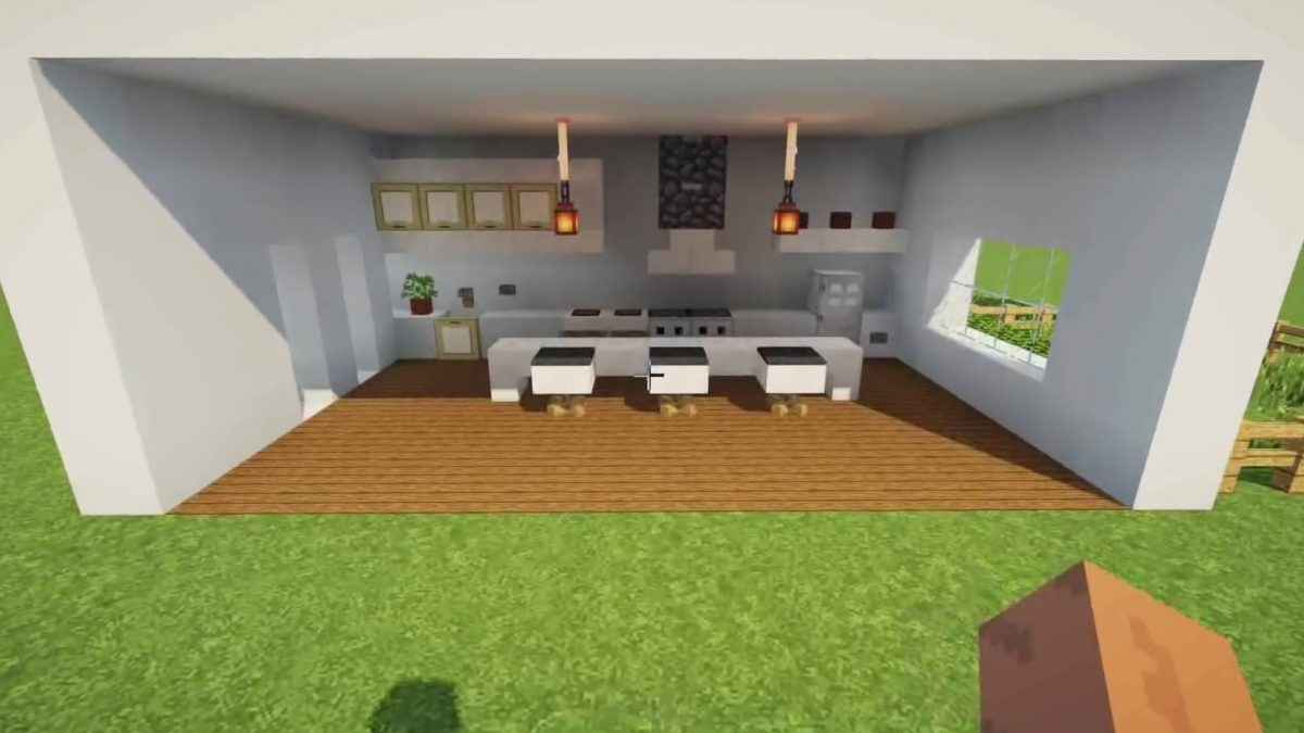 Minecraft Kitchen Ideas Delicious Recipes To Give Your Next Build