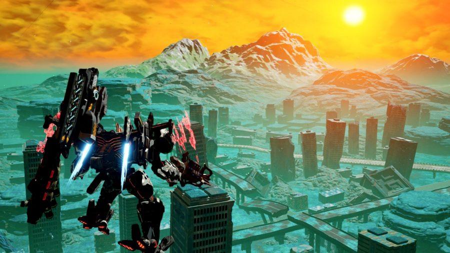 Deamon X Machina robot games