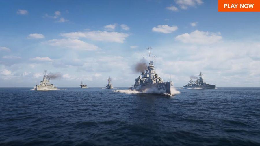 World of Warships أفضل ألعاب الحرب