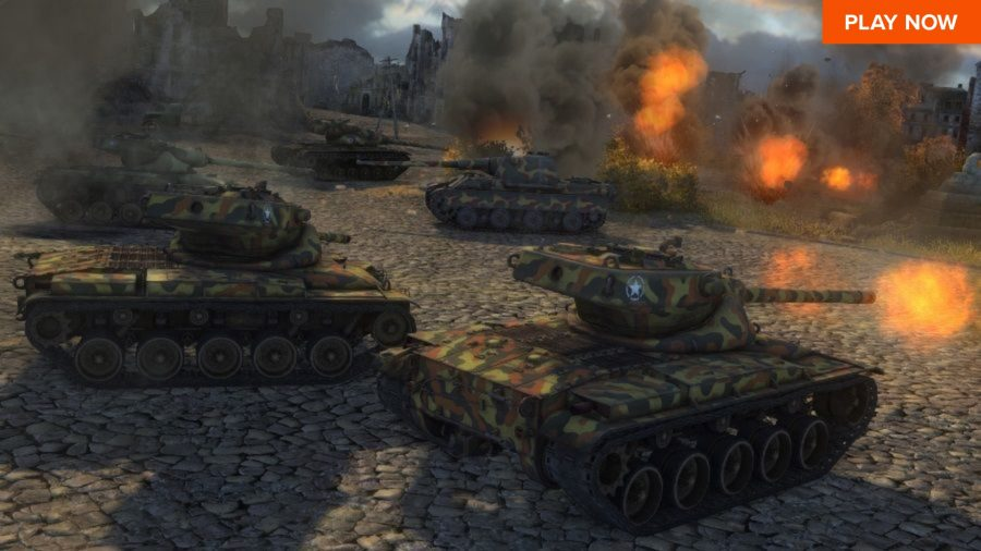 One of the best free PC games, World of Tanks