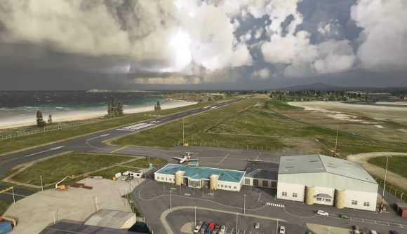 Microsoft Flight Simulator airports