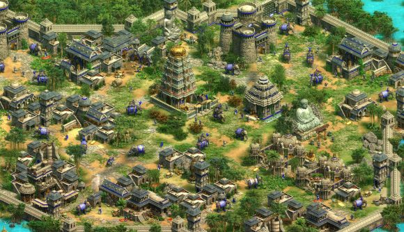A map from Age of Empires 2