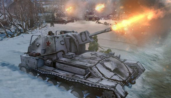 A tank in Company of Heroes 2