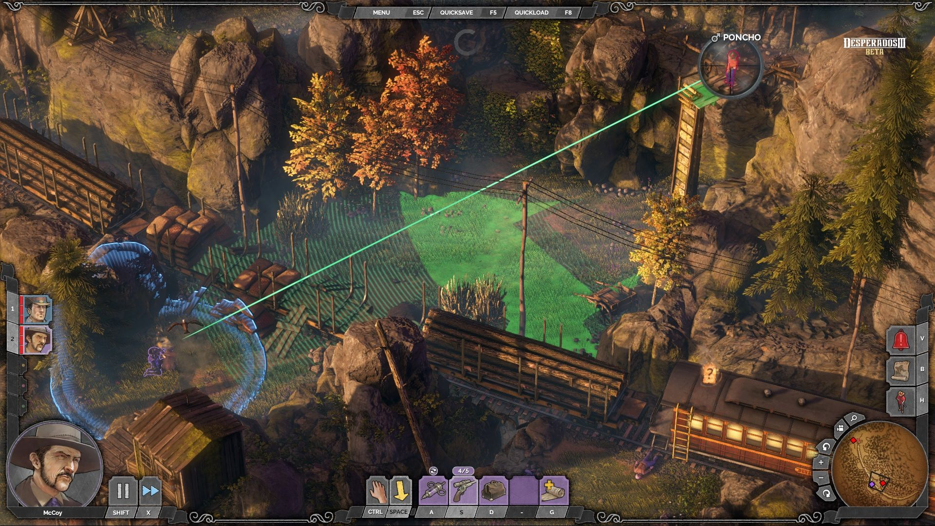 Desperados 3 Is The Modern Commandos Game Stealth Tactics Needs Pcgamesn