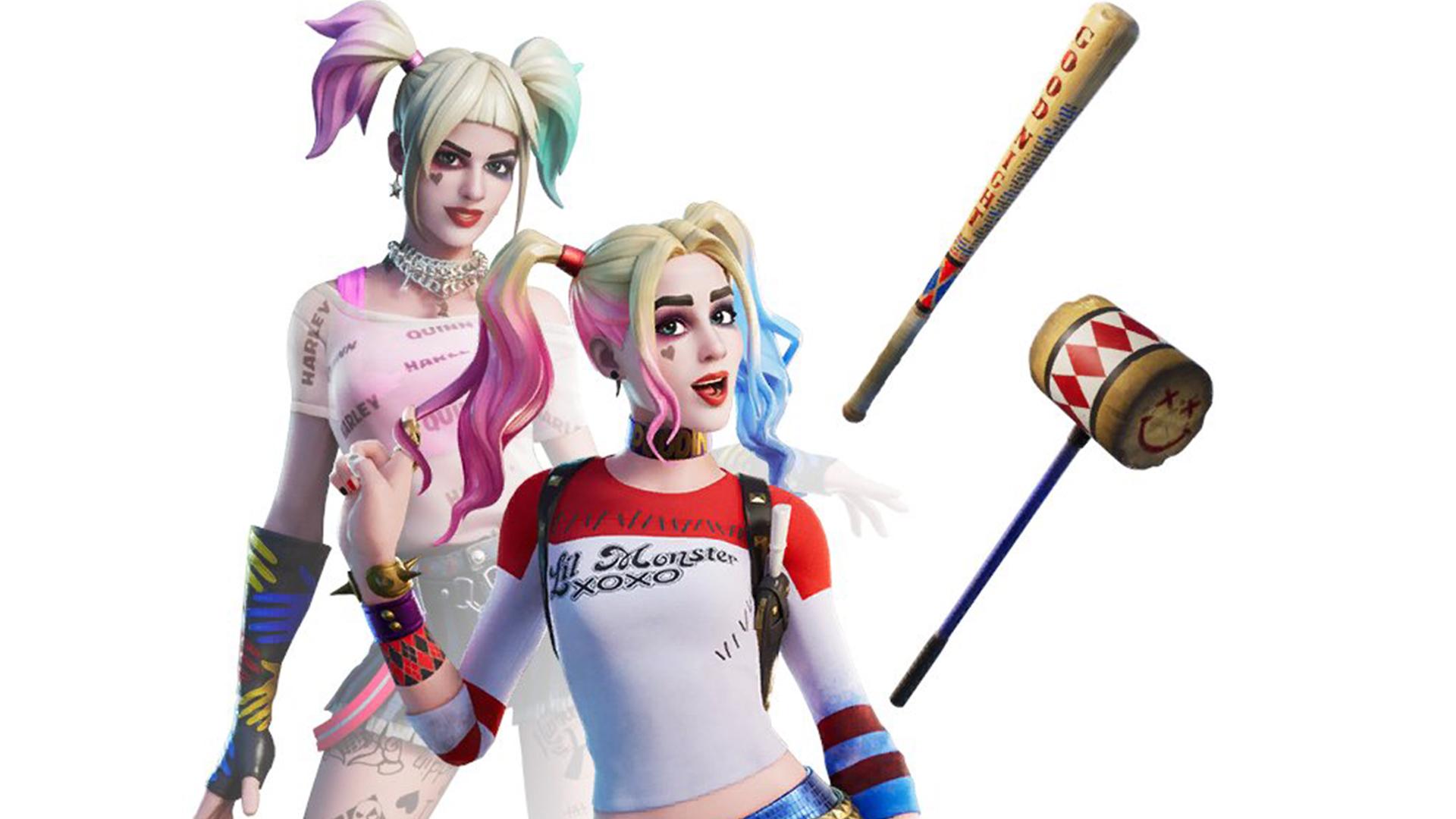 Fortnite S Harley Quinn Skin Is Substantially Less Horny Than Pubg S Pcgamesn