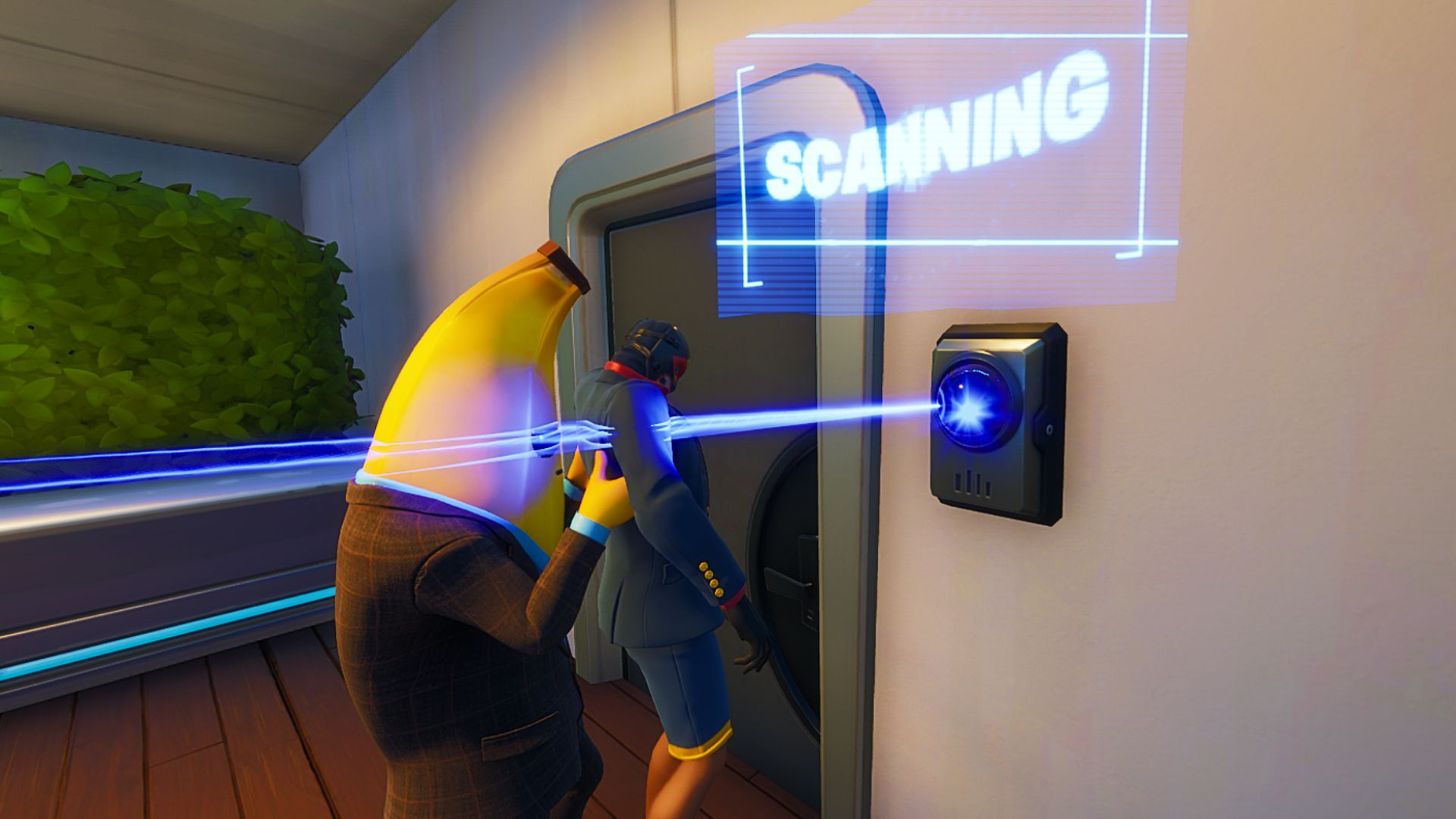 Fortnite Id Scanners How To Open Doors Locked By An Id