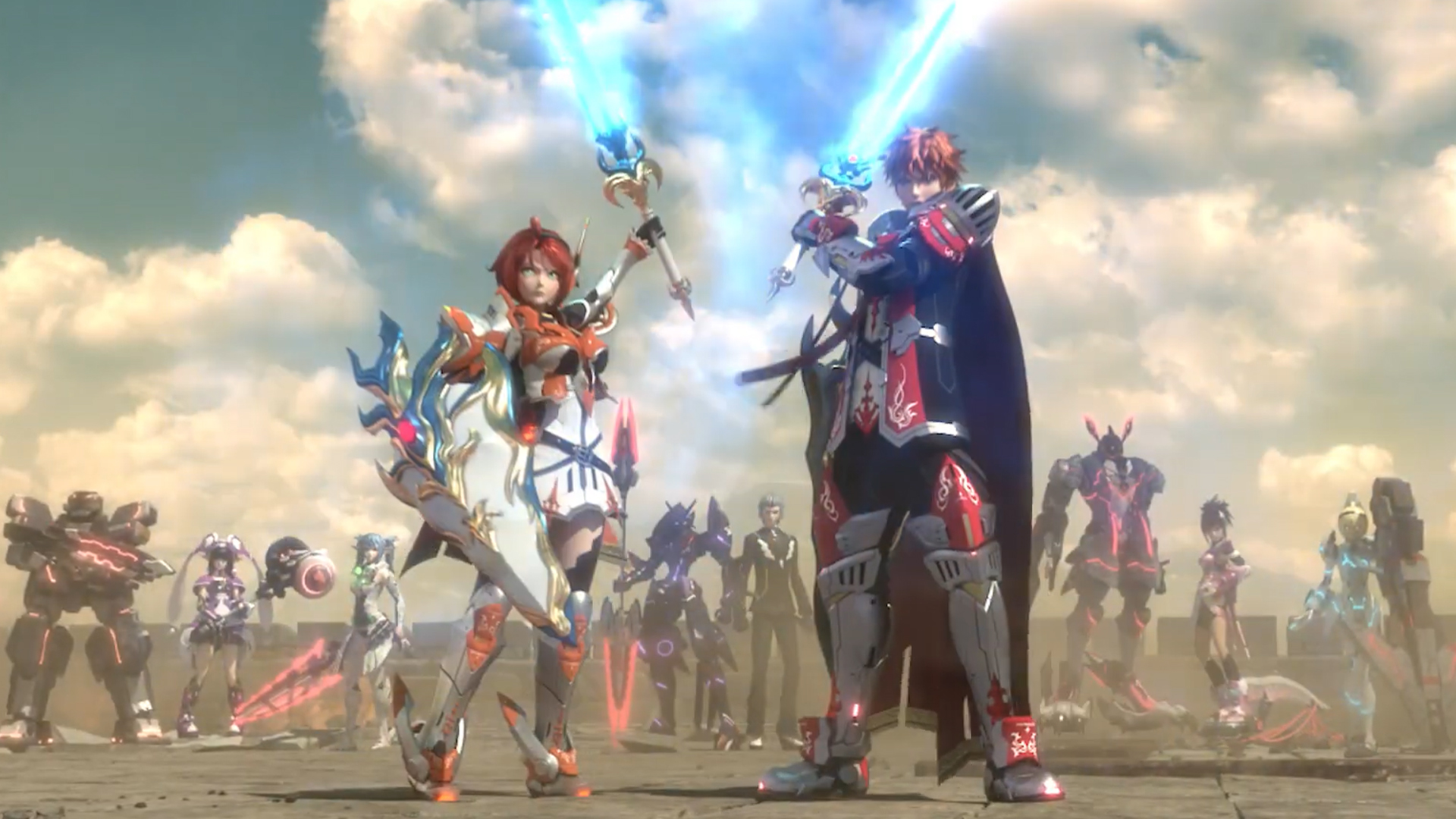 Looks Like Phantasy Star Online 2 Is Coming To Steam Pcgamesn