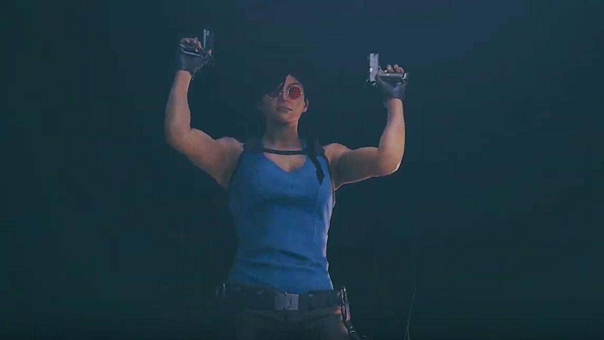 Rainbow Six Siege Unveils Surprise Tomb Raider Ash Elite Skin