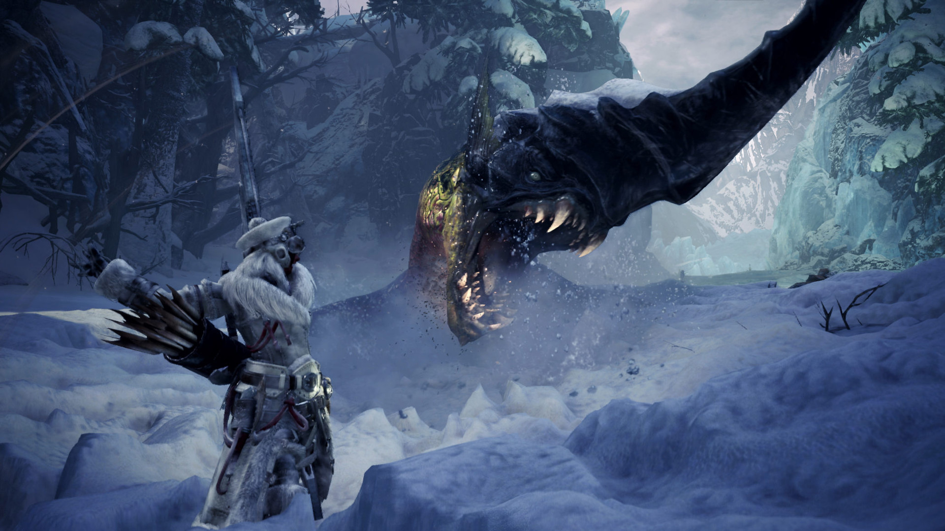 Next Monster Hunter World Iceborne Monsters Coming To Pc In April Pcgamesn