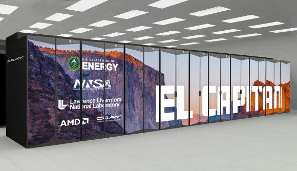 AMD El Capitan supercomputer