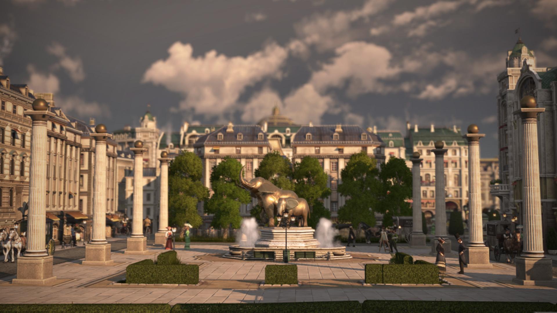 Cuộc bầu chọn mỹ phẩm DLC sắp tới cho Anno 1800 bao gồm vòng đu quay, thanh kem và rạp xiếc 2