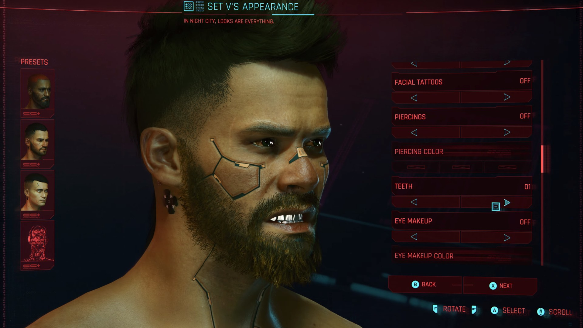 Cyberpunk 2077 character customisation - everything you ...