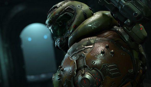 A Doom guy from Doom Eternal