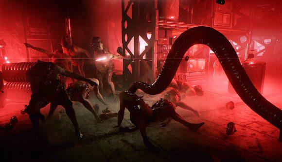 A tentacle foe in GTFO