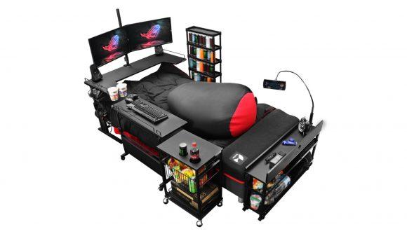 Japanese gaming bed