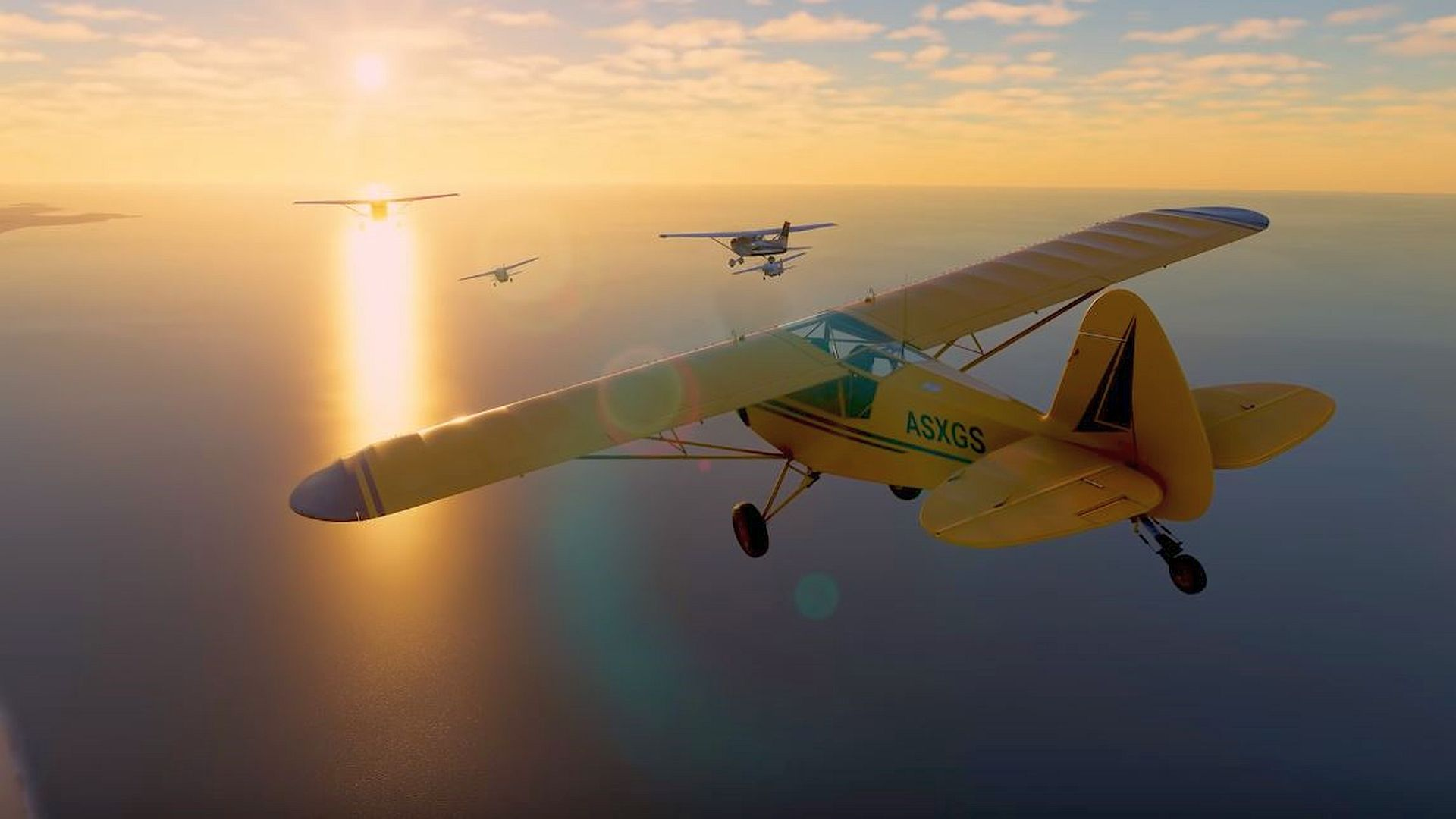 """Microsoft Flight Simulator now """"only"""" needs 83GB of drive space"""