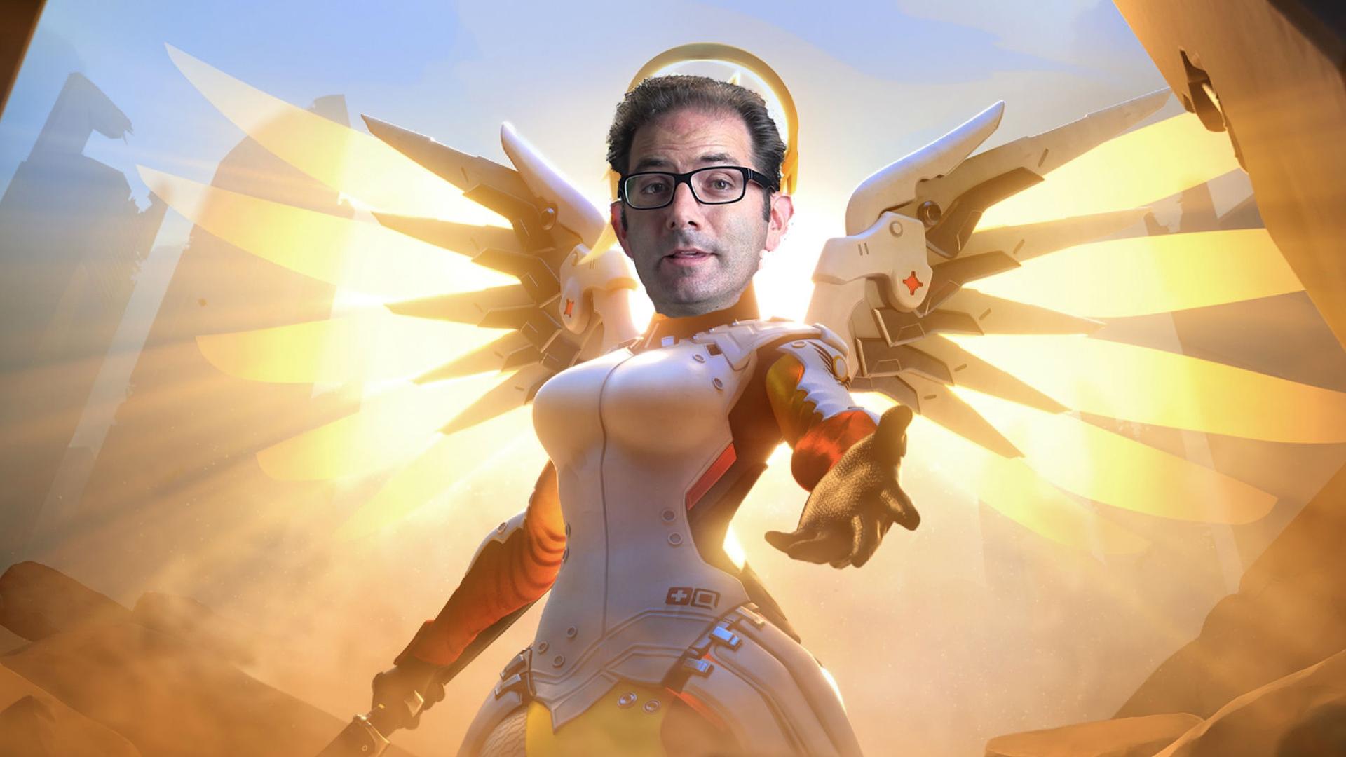 """Overwatch's Jeff Kaplan wants to """"healing beam everyone with coronavirus"""" as Mercy"""