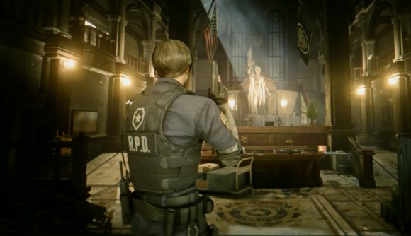 Resident Evil 2 remake ray tracing mod Massihancer