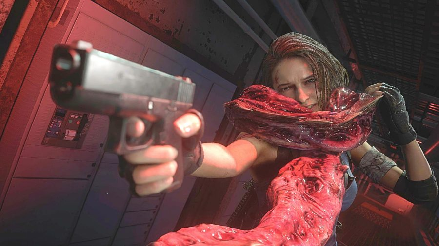 Resident Evil 3 Review Missing In Action Pcgamesn