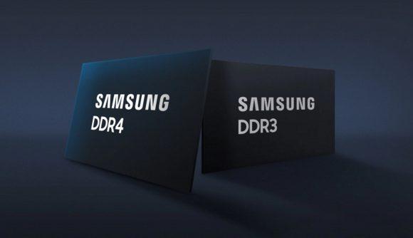 Samsung DDR4 and DDR3 DRAM