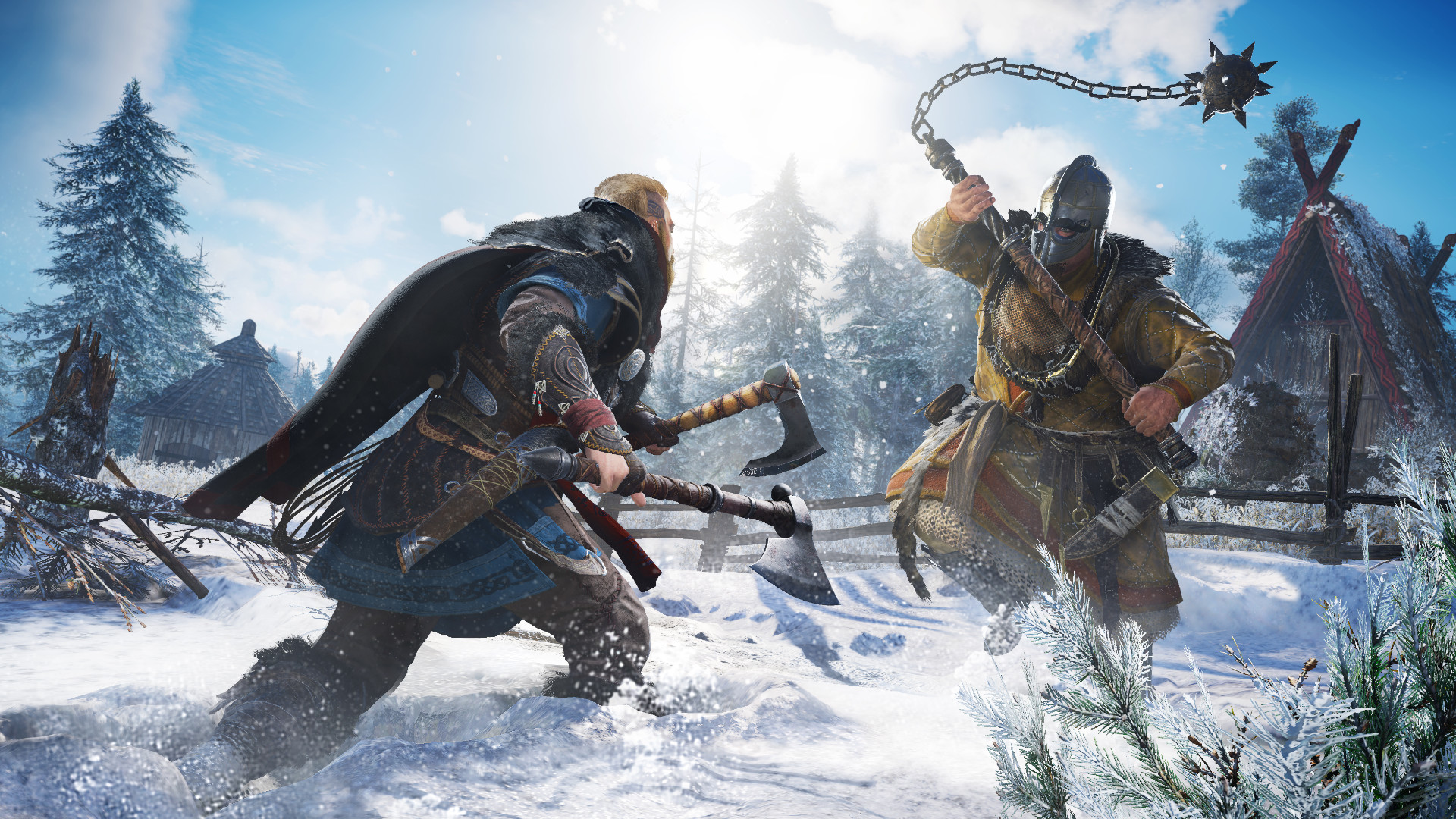Here's how Assassin's Creed Valhalla's Viking rap battles work