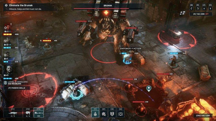 Gears Tactics -best turn based strategy