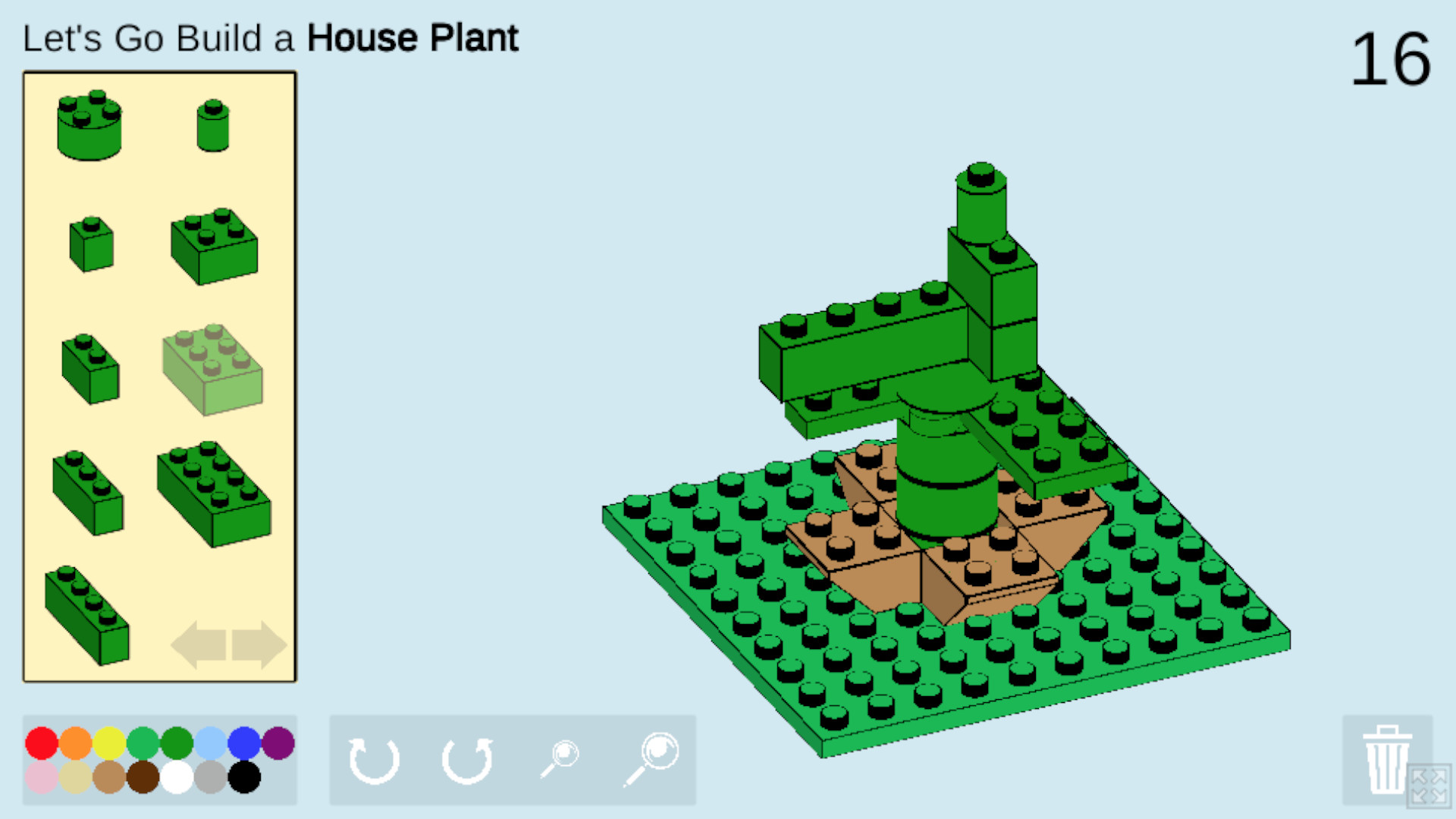 This free browser game gives you a daily Lego build