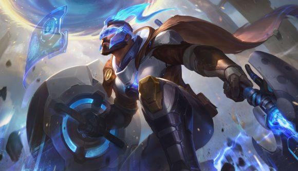 League of Legends Pulsefire Pantheon splash