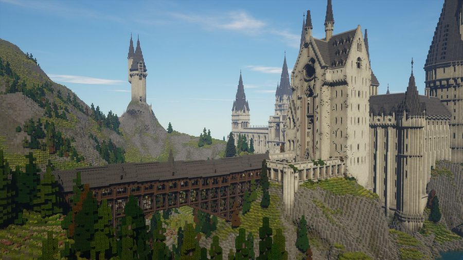 Minecraft Hogwarts How To Play This Cool Minecraft Harry Potter