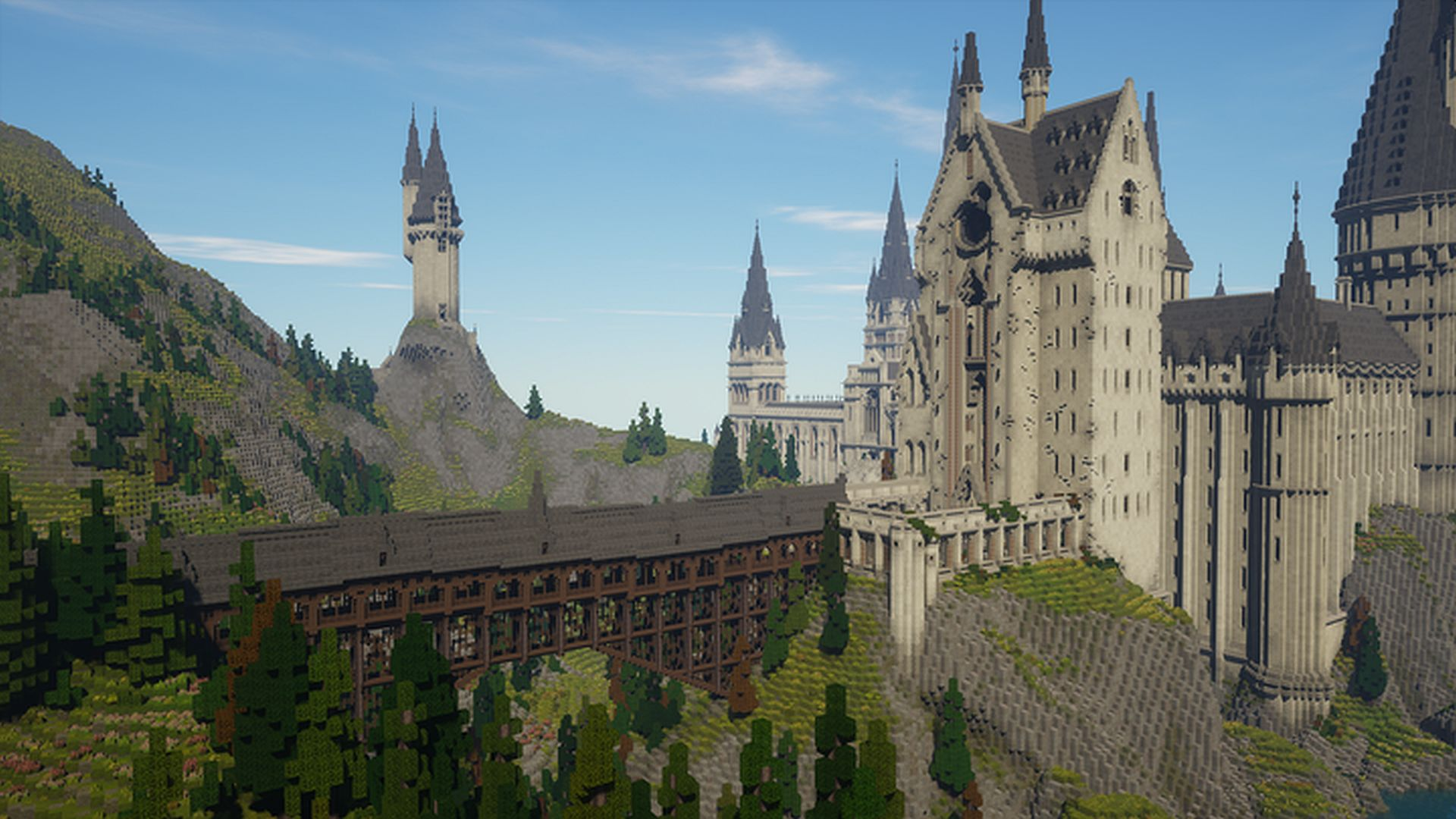 Minecraft Hogwarts How To Play This Cool Minecraft Harry Potter Rpg Map Pcgamesn