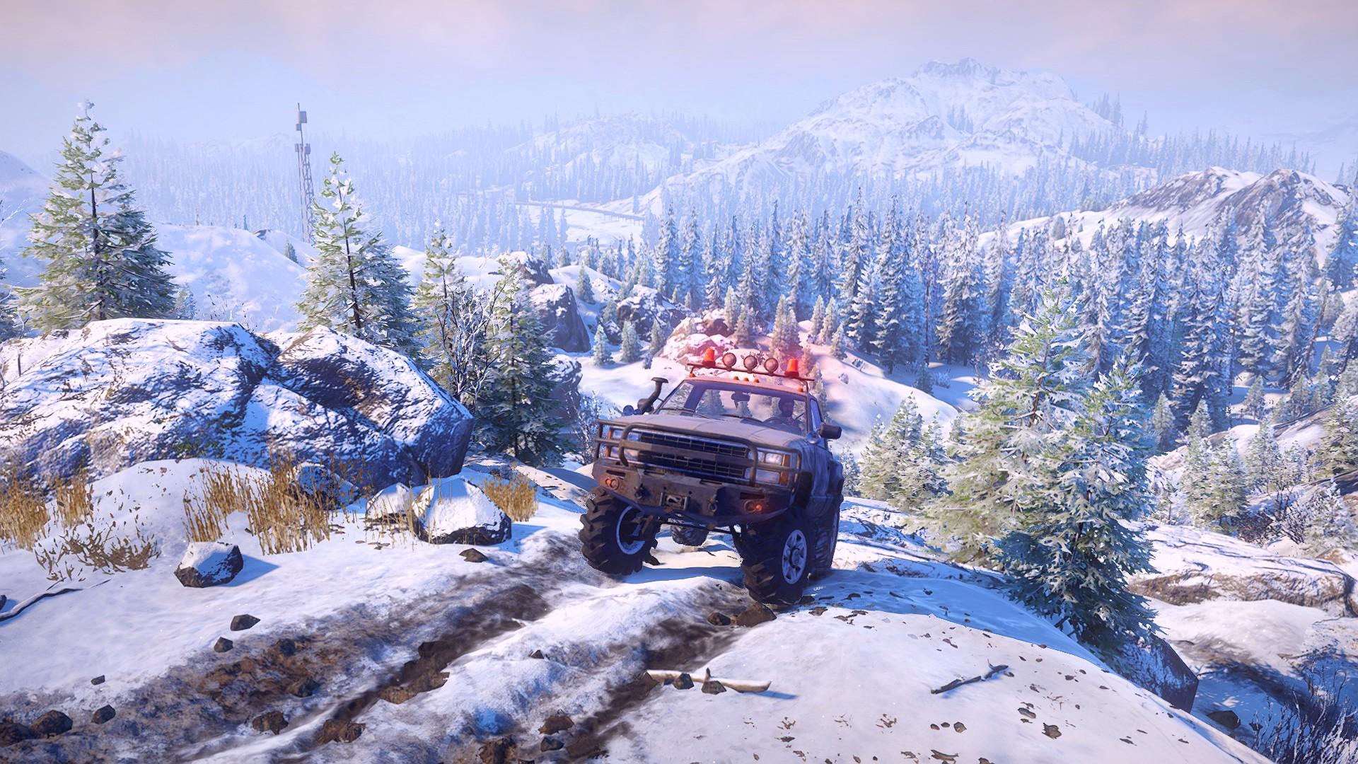 SnowRunner arrives on Steam next month
