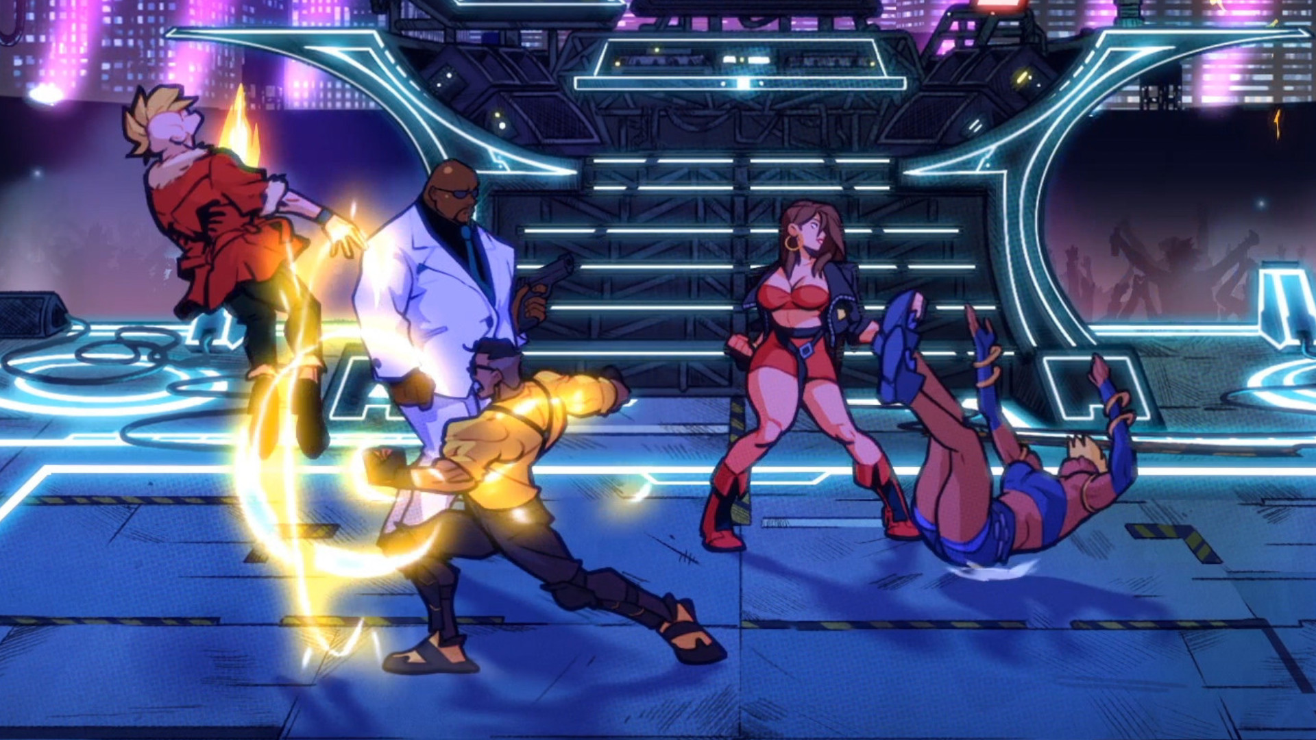 """The Streets of Rage 4 release date you've seen isn't real – but it is """"releasing soon"""""""