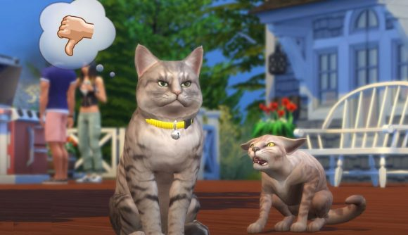 "Woman Yelling at Cat Meme Added to ""The Sims 4"""