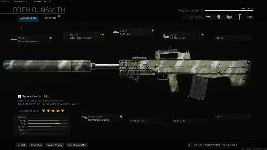 Лучшее снаряжение для боевой зоны - oden