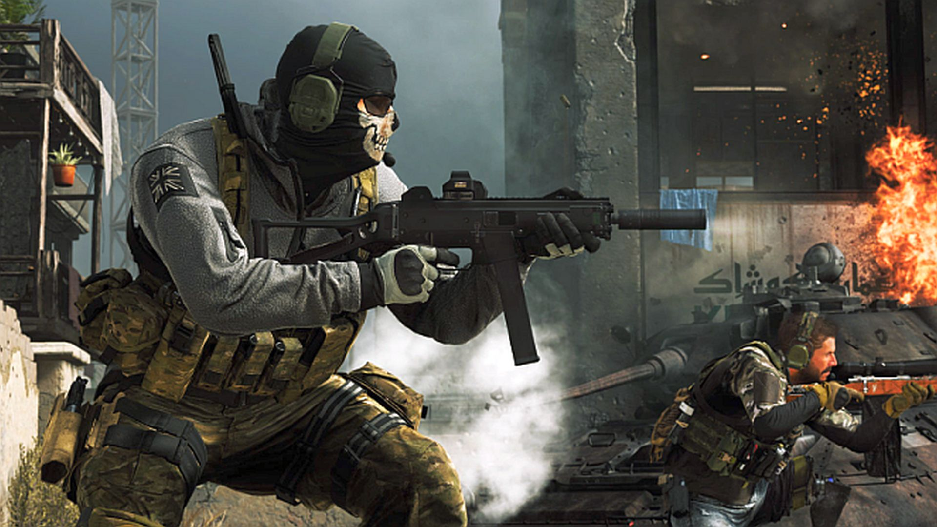 Call Of Duty Modern Warfare Update Adds Vintage Ghost Look New