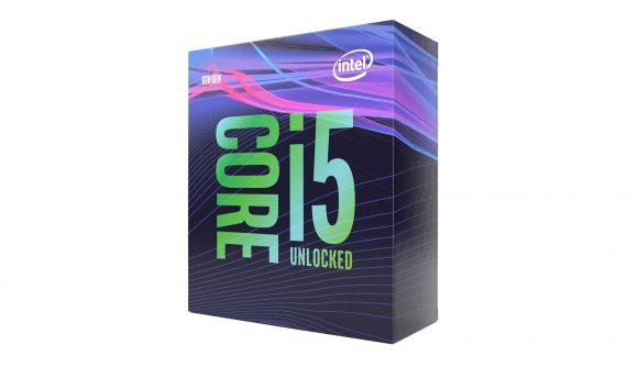 Intel Core i5 9600K packaging