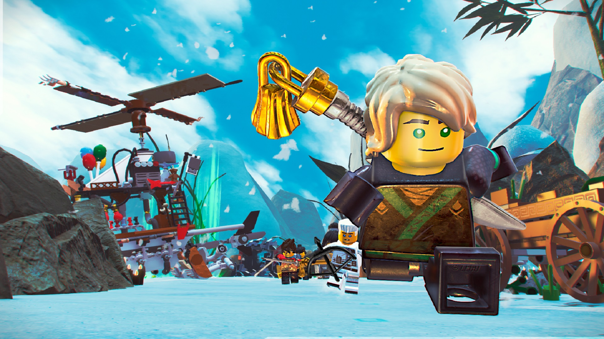 Free Games The Lego Ninjago Movie Game Is Free Right Now On Steam Pcgamesn