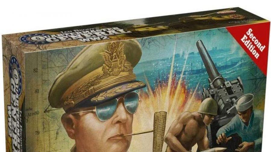 Quartermaster General WW2 board game