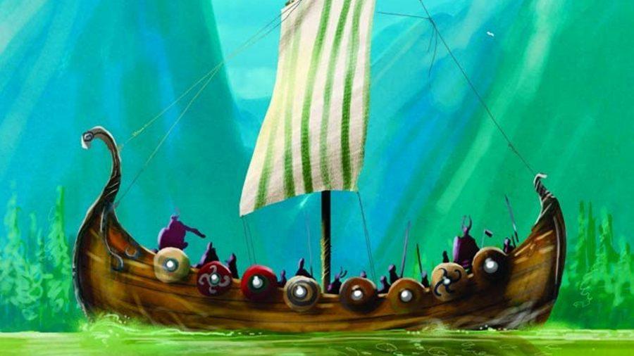 Raiders of the North Sea viking board game
