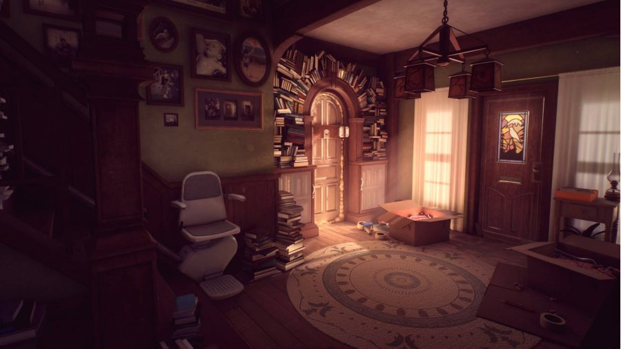 The story games remain from Edith Finch