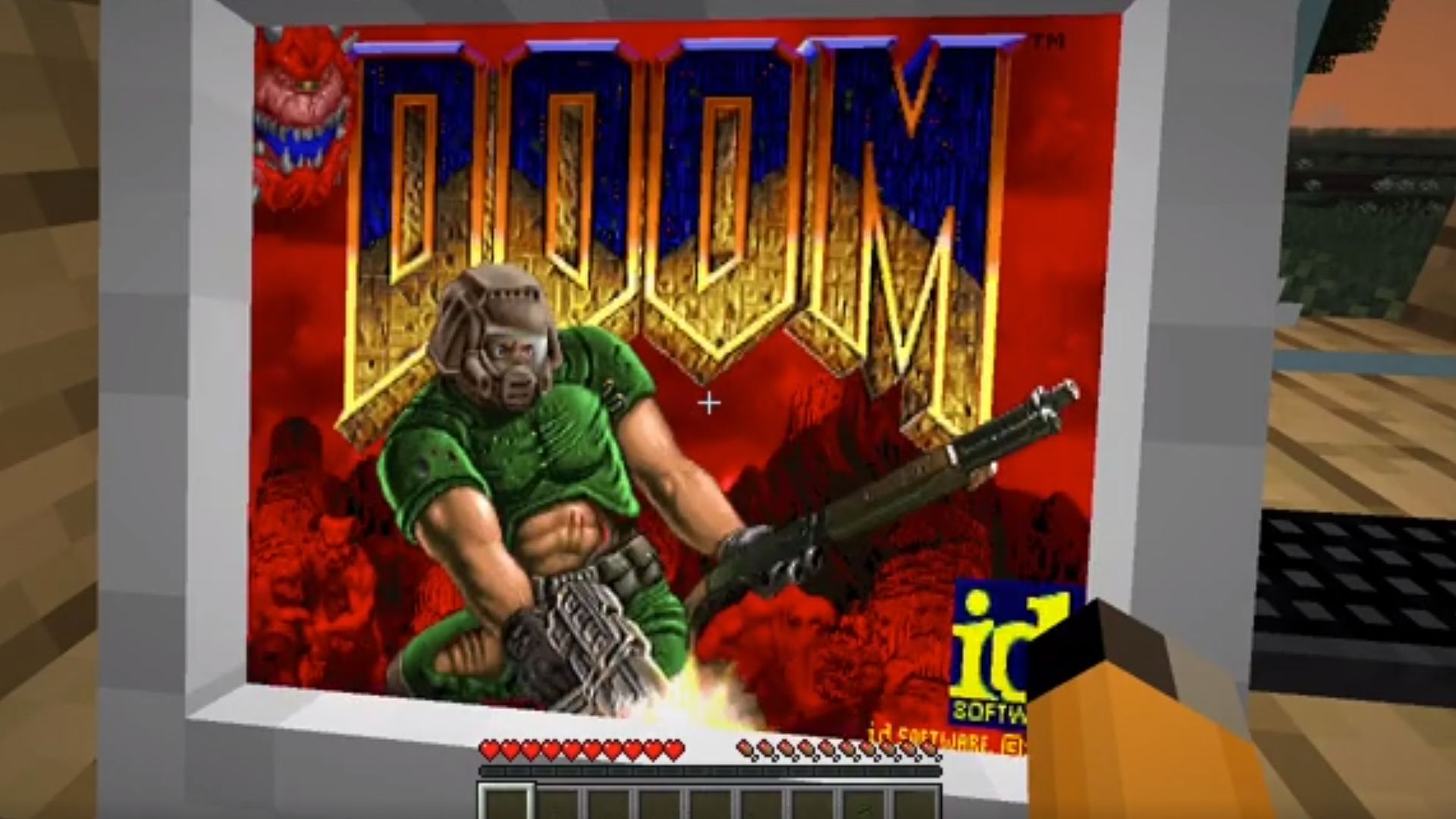 This Minecraft Mod Lets You Build An Actual Functioning Pc Then Play Doom On It Pcgamesn